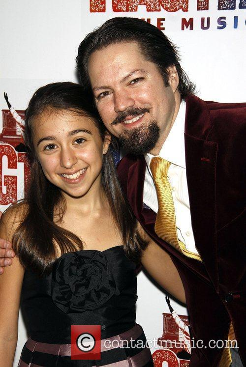 Robert Petkoff and Sarah Rosenthal Opening night after...