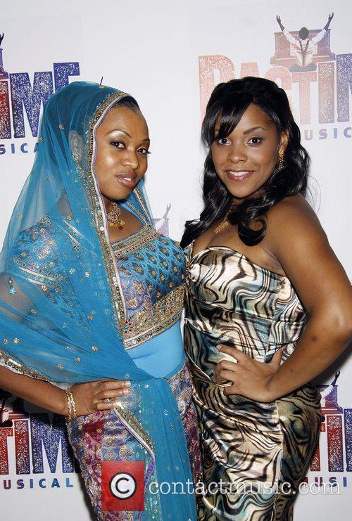 Sumayya Ali and Bryonha Parham Opening night after...