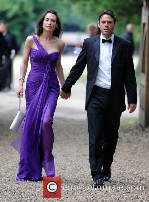 Claire Forlani and Dougray Scott