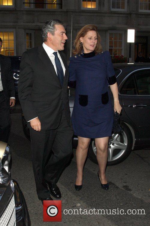 Gordon Brown and Tana Ramsay 3