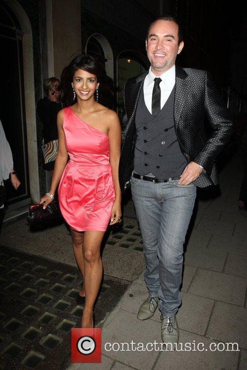 Gordon and Tana Ramsay's fundraising dinner held at...