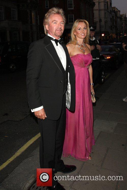 Noel Edmonds and Tana Ramsay