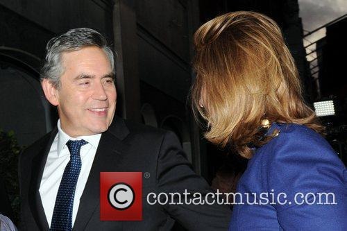 Gordon Brown and Tana Ramsay 1