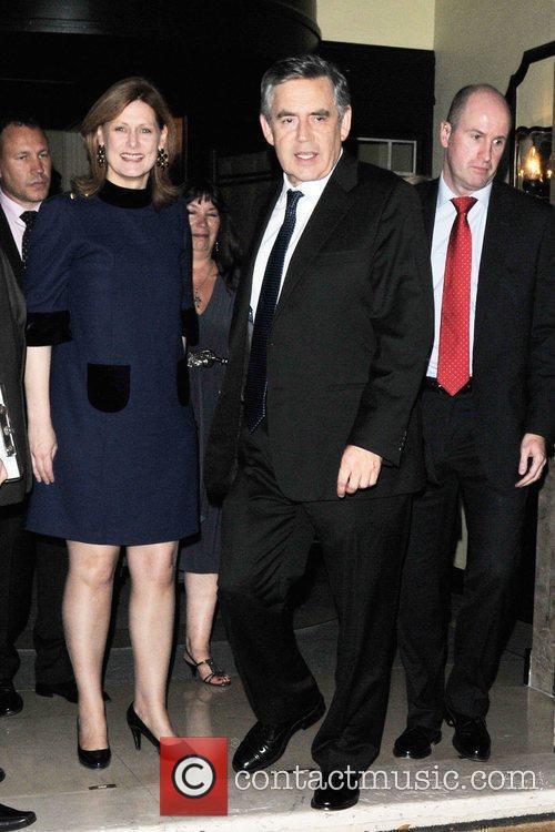 Gordon Brown and Tana Ramsay 5