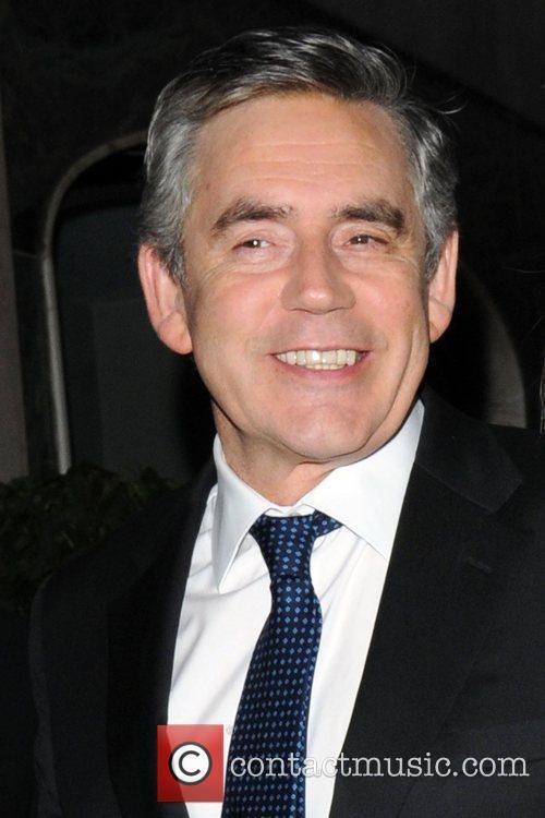 Gordon Brown and Tana Ramsay 9