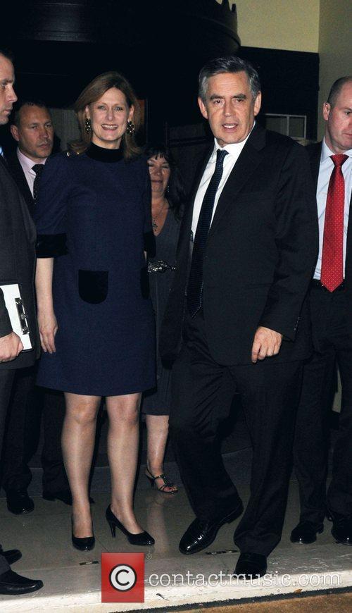 Gordon Brown and Tana Ramsay 6
