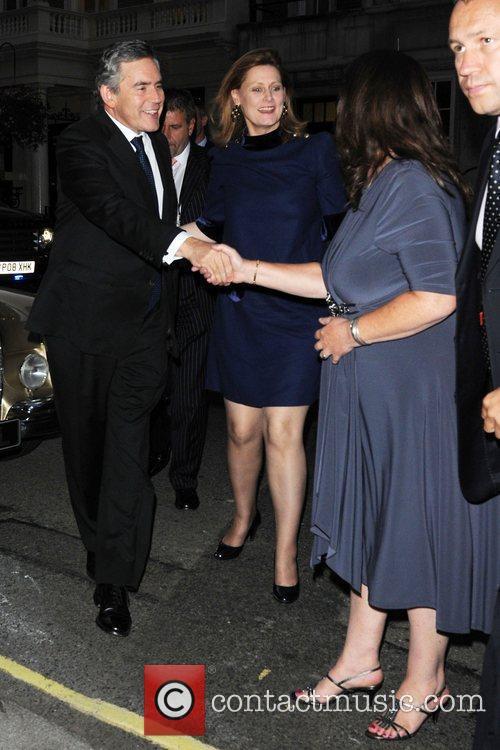 Gordon Brown and Tana Ramsay 10