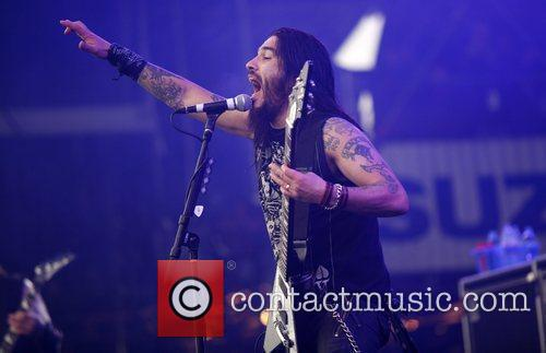 Peforming live at Rock am Ring open air...