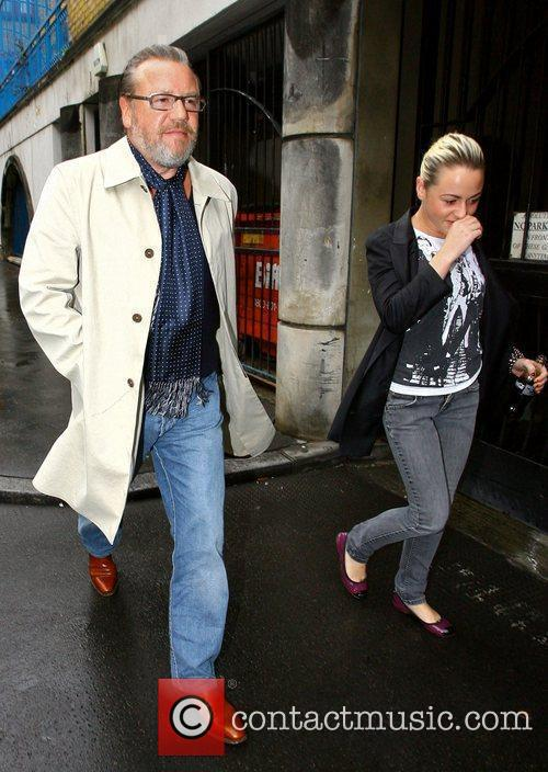 Ray Winstone and his daughter Jaime leave their...