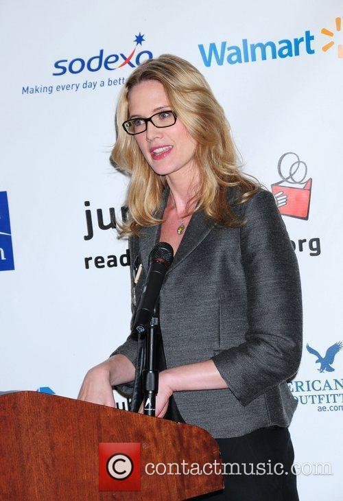 Stephanie March Read for the Record held at...
