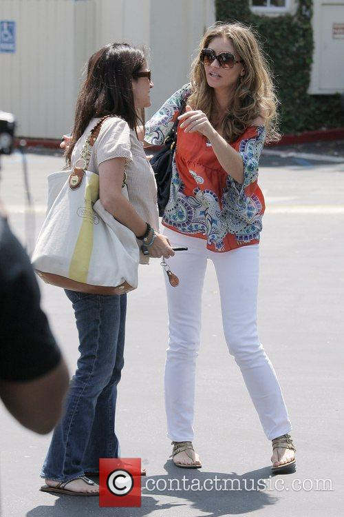 Rebecca Gayheart Leaving Cafe Med At Sunset Plaza After Having Lunch With Friends 5