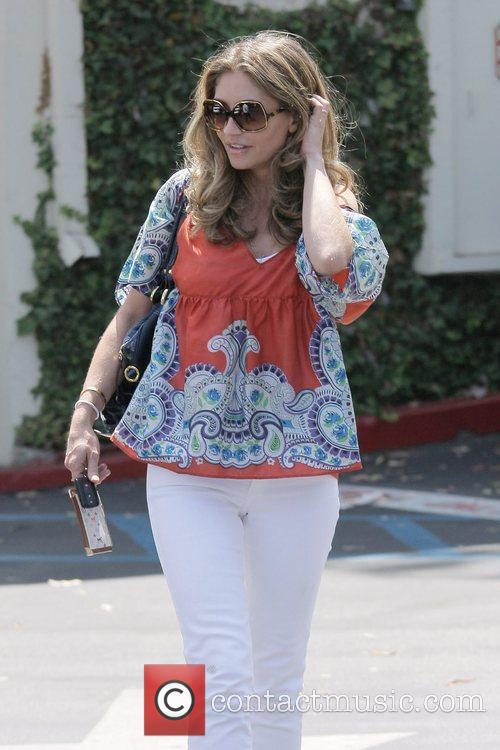 Rebecca Gayheart Leaving Cafe Med At Sunset Plaza After Having Lunch With Friends 11