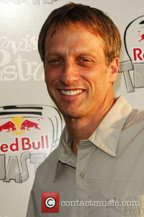 Tony Hawk Red Bull toasted event held at...