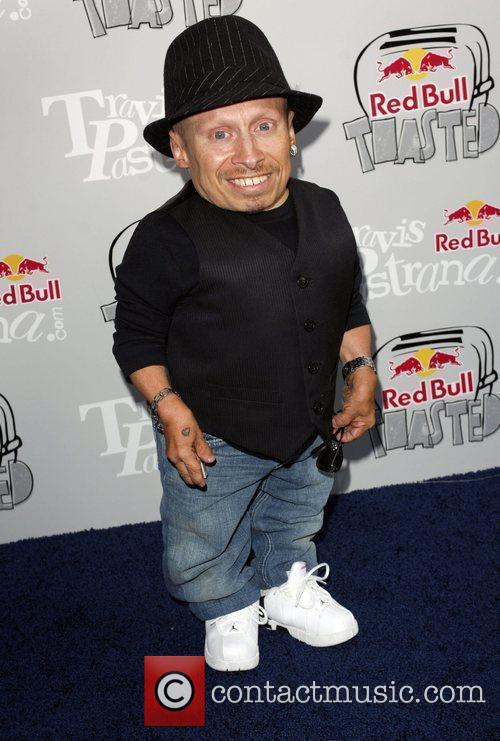 Verne Troyer Red Bull toasted event held at...