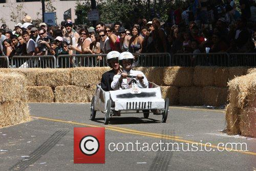 Atmosphere The Red Bull Soapbox Race Los Angeles,...