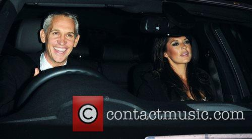 Gary Lineker and Danielle Bux The Red Room...