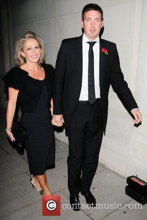 Lucy Benjamin and husband Richard Taggart The Red...