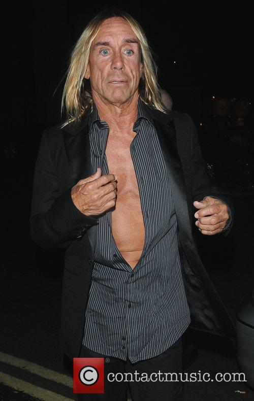 Iggy Pop The Red Room Opening Party at...