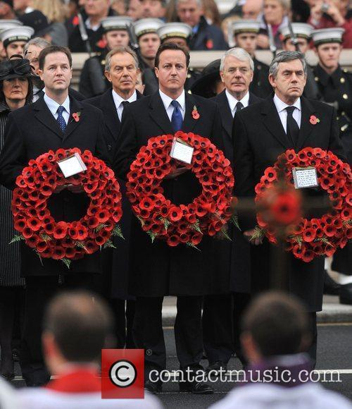 Remembrance Sunday celebrations held at the Cenotaph