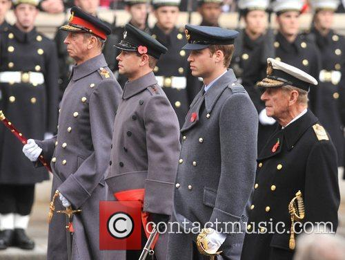 Prince William and Prince Philip 2