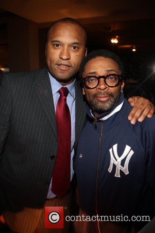 Londell McMillan and Spike Lee Rev. Al Sharpton's...