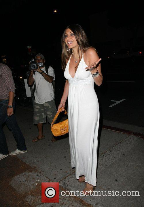 Brittny Gastineau The Pop-Up Shop Party held at...