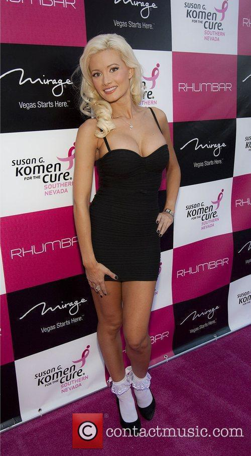 Holly Madison The opening of Rhumbar at The...