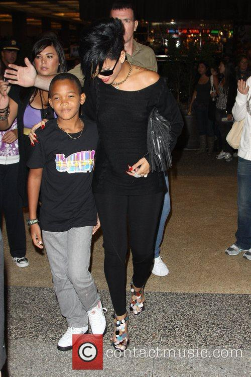 Rihanna and Her Family 4