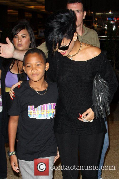 Rihanna and Her Family 1