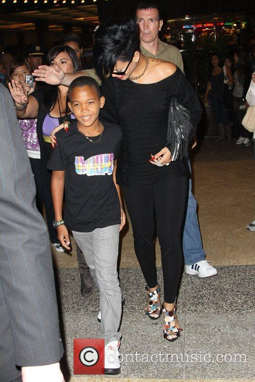 Rihanna and Her Family 2