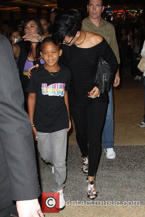 Rihanna and Her Family 6
