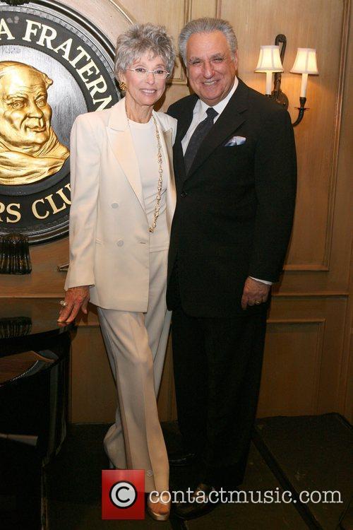 Rita Moreno, Stewie Stone attends an event celebrating...