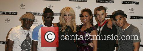 Alesha Dixon, Pixie Lott River Island Presents -...