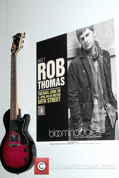 Atmosphere Rob Thomas' new album release and the...