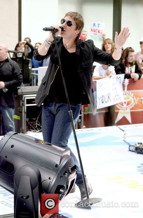 Performing live on the Today show's Summer Concert...