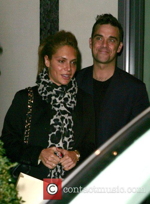 Robbie Williams Leaving a Hotel in Soho. London,...