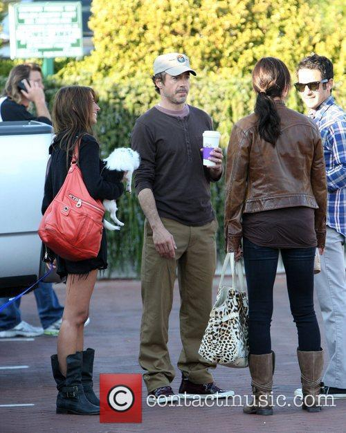 Robert Downey Jr. spends time with friends in...