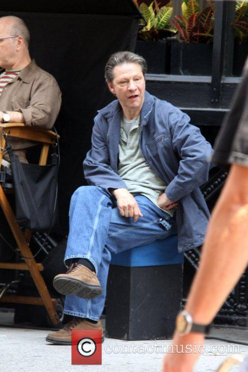 Chris Cooper on the set of his new...
