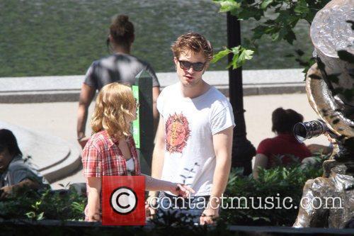 Robert Pattinson and Emilie de Ravin on the...