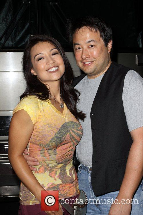Ming-Na and her husband Eric Michael Zee Adult...