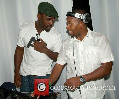 Idris Elba and Russell Simmons 4
