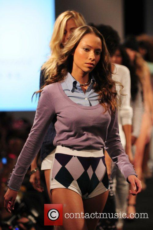 Model and Russell Simmons 13