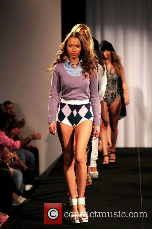 Model and Russell Simmons 12