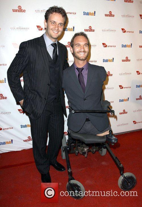Nick Vujicic and Aaron Vujicic Sir Richard Branson...
