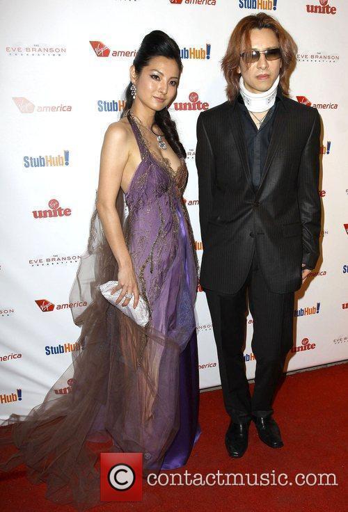 Sakikc Yamada Posta and Musician Yoshiki Sir Richard...