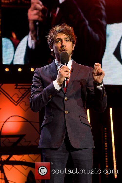 Alex Zane Orange RockCorps concert at Royal Albert...