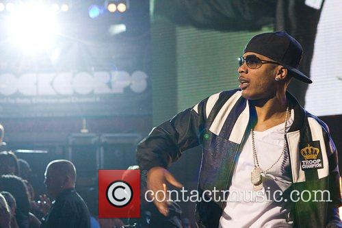 Nelly Orange RockCorps concert at Royal Albert Hall...