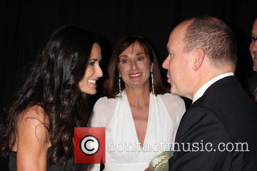Demi Moore and Prince Albert Ii Of Monaco 8