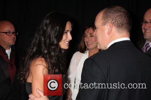 Demi Moore and Prince Albert Ii Of Monaco 7