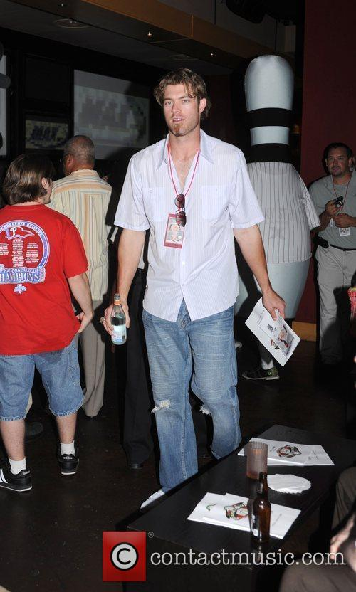Jayson Werth at The Jimmy Rollins BaseBowl Event...